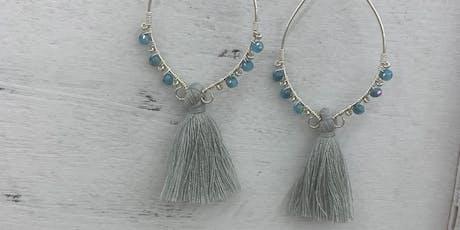 Lotus Leaf Earrings  tickets