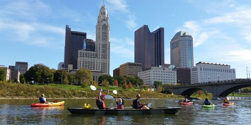 Paddle in the City · Kayak September River Cleanup And SUP Yoga