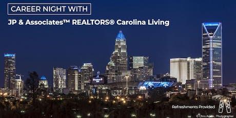 Career Night with JPAR Carolina Living tickets