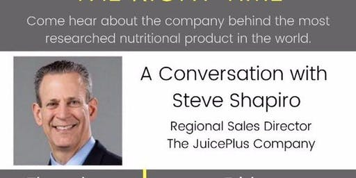 STEVE SHAPIRO - THE RIGHT PLACE AT THE RIGHT TIME