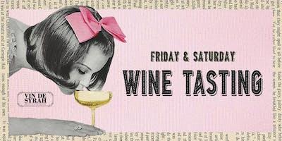 Wine Tasting at Vin de Syrah