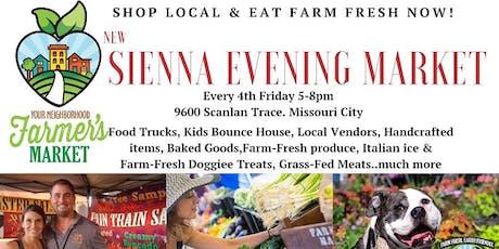 Sienna Evening Market tickets