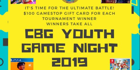 CBG Game Youth Game Night tickets