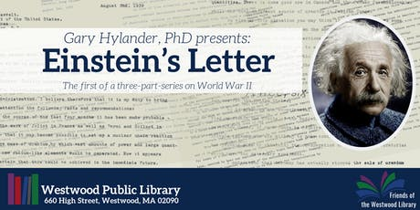 "Gary Hylander, PhD presents ""Einstein's Letter"" tickets"