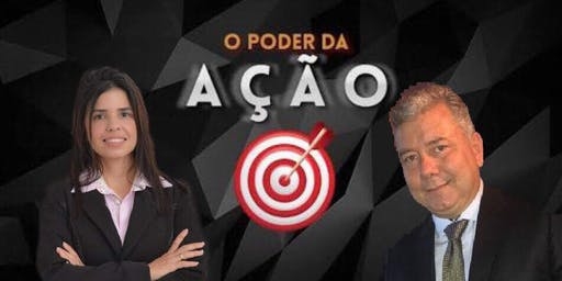 Curso O Poder da Ação, ministrantes Roberto Torreão e Ticiane Revorêdo