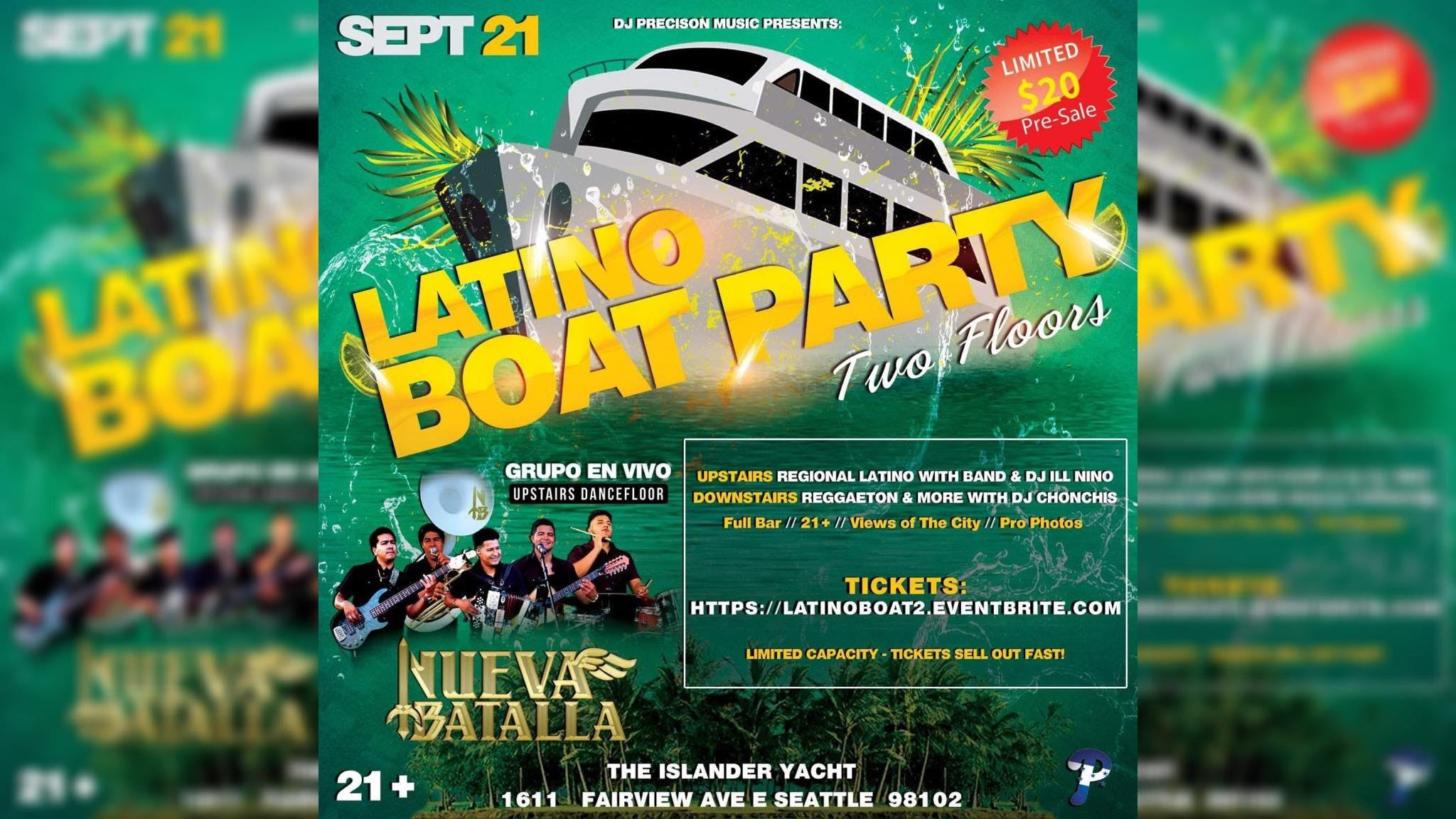 Latino Boat Party With Band 2