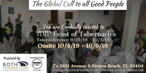 The Global Call to All Good People - Feast of Tabernacles 6022