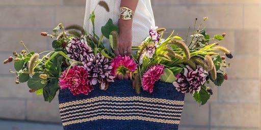 DIY Flower Arrangement Workshop + Influencer Q&A w/ Liz from @Lateafternoon