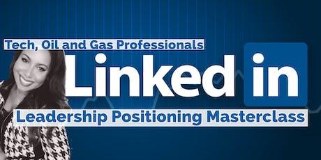 Linkedin's Leadership Visibility Masterclass: Professionals tickets