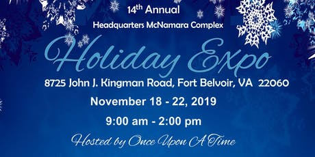 Retailer Business Opportunity Holiday Expo McNamara Complex, Full Week tickets