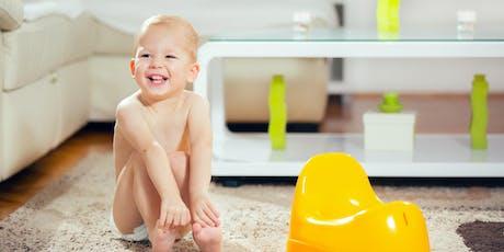 ONLINE—Bye-Bye Diapers: Toilet Learning (Toddler/Preschool) tickets