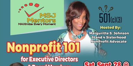 The Nonprofit 101:Masterclass tickets