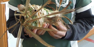 BASKET WEAVING (textiles) for 9 – 14 year olds