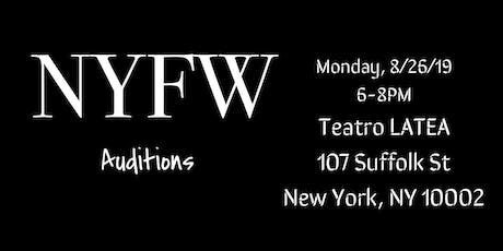 NYFW Casting Call tickets