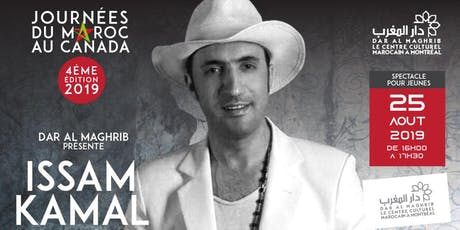 Spectacle Issam kamal pour ados et familles à Dar Al Maghrib tickets
