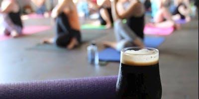 Brew Yoga at Pollyanna Brewing Company