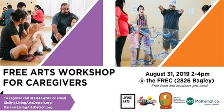 Free Arts Workshops for Caregivers tickets