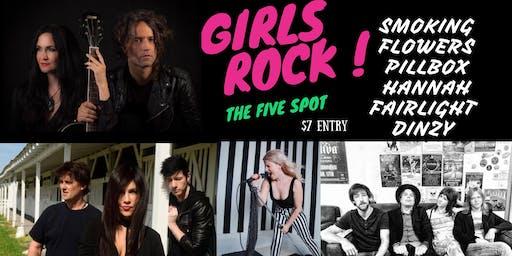 Girls Rock! The Five Spot