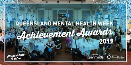 Queensland Mental Health Week Achievement Awards 2019 tickets