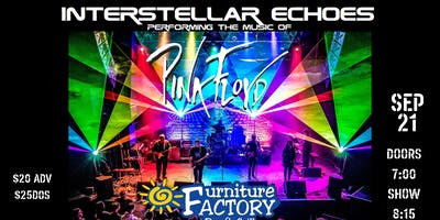 Interstellar Echo a Tribute to Pink Floyd At Furniture Factory Bar & Grill