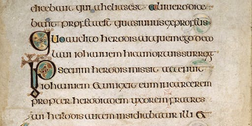 Learn to Write the Letters in the Book of Kells