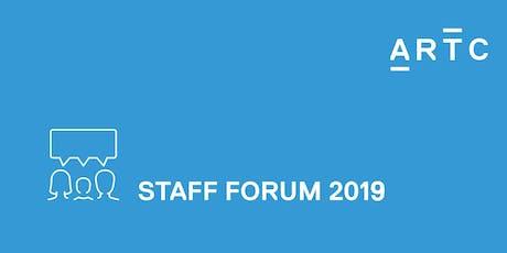 ARTC Staff Forum Newcastle tickets