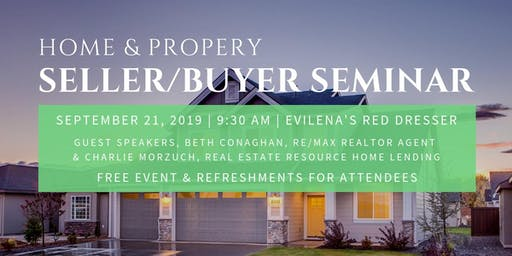 Sellers/Buyers Seminar for Home & Property Investments