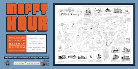 Mappy Hour at the Putnam History Museum tickets