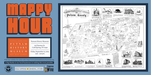 Mappy Hour at the Putnam History Museum