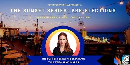 INVITATION: Sunset Series Happy Hour Drinks @Carlton Beach Bar w MK Stav Shaffir