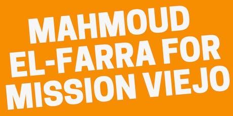 Campaign Kick-Off House Party for Mahmoud El-Farra tickets