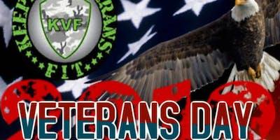 Keeping Veterans Fit Fundraising Weekend