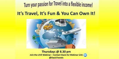 Become Empowered by Travel - FREE LIVE WEBINAR!