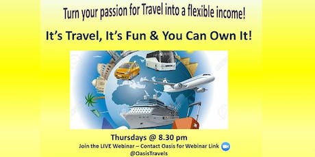 Become Empowered by Travel - FREE LIVE WEBINAR! tickets