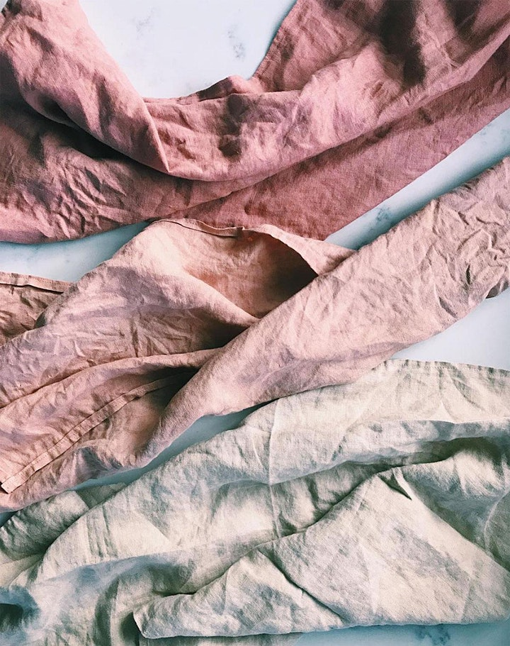 Forage and Sustain x Wild Woven Workshop - Natural Dyeing and Foraging image