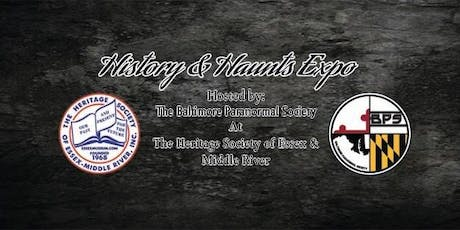 History and Haunts Paranormal Expo 2020 tickets