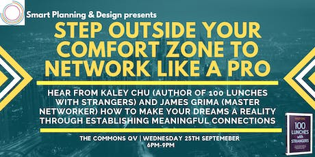 Step Outside Your Comfort Zone to Network like a Pro tickets