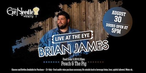 LIVE at the Eye:   Brian James