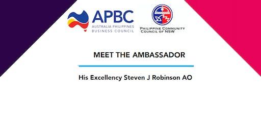 Meet The Ambassador  His Excellency Steven J Robinson AO