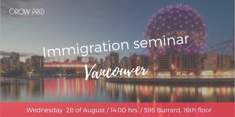 Immigration seminar entradas