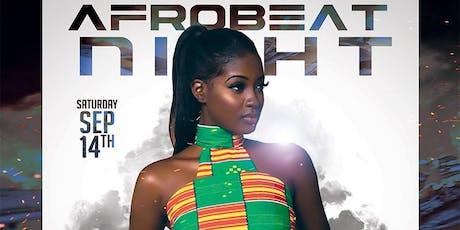 AFROBEAT NIGHT tickets