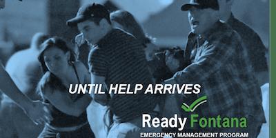 Until Help Arrives Course for October 2019