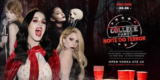 College Party - Noite do Terror (Open Vodka)