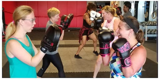 FREE WOMEN'S BOXING CLASS SEPT 8TH ONLY!