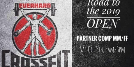 Everhard CrossFit Road to the OPEN Partner Comp tickets