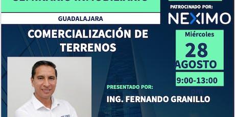 COMERCIALIZACION DE TERRENOS boletos