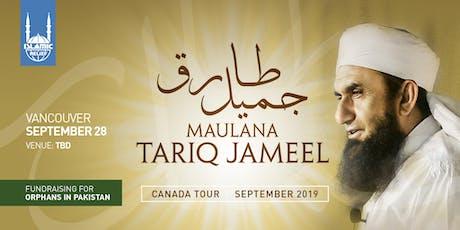 Maulana Tariq Jameel in Vancouver tickets