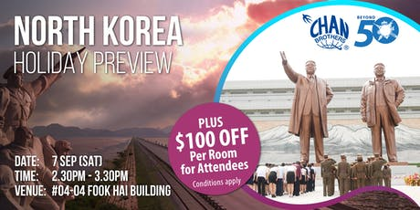 North Korea Holiday Preview tickets