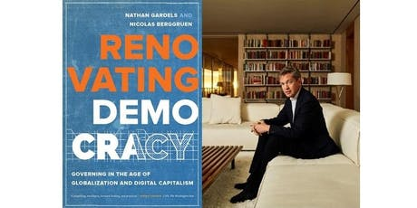 Renovating Democracy: The Conversation We Start with Nicolas Berggruen tickets