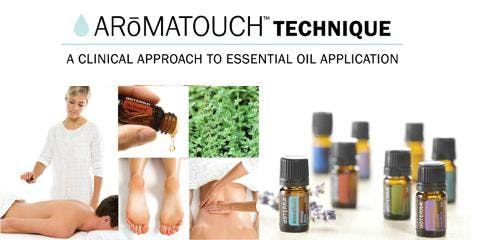 Aromatouch Technique Certification Training!
